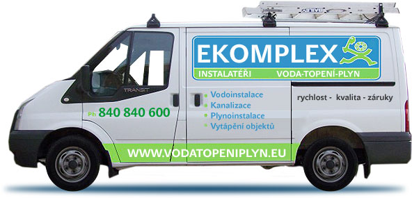 instalat&eacute;i Podbrady - voda - rozvody tepla